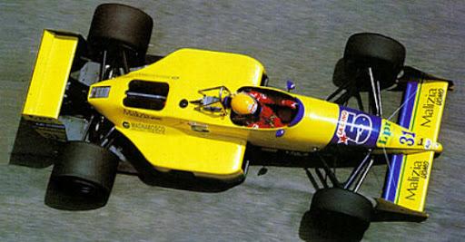 Coloni, equipe histórica de Formula 1 de 1988 - by rodrigomattardotcom.files.wordpress