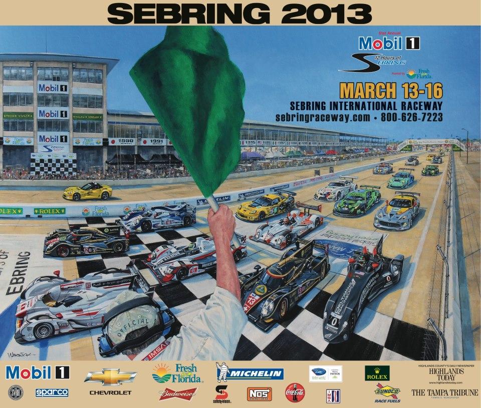 2013_ALMS_Sebring_Poster