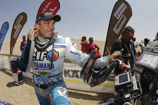Dakar13_David_Casteau_Etapa2_JM