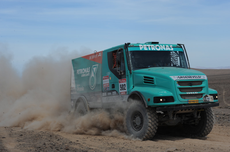 MOTORSPORT / DAKAR 2012 - PART 2