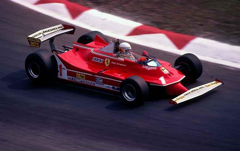Ferrari 312T5 Jody Scheckter 1980 -1
