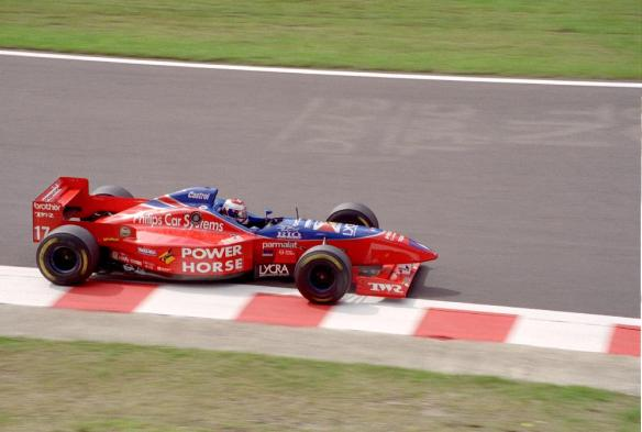 Jos Verstappen Footwork FA17 01