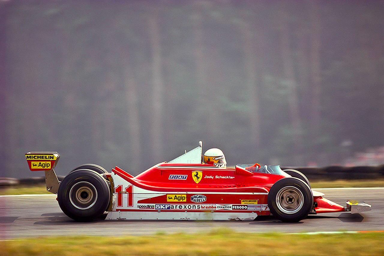 Championship leader Jody Scheckter, Ferrari