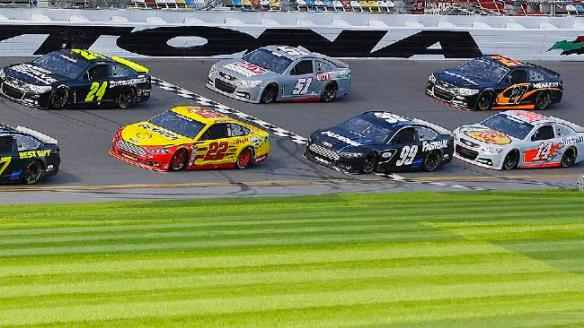 NASCAR Daytona Testing Auto Racing