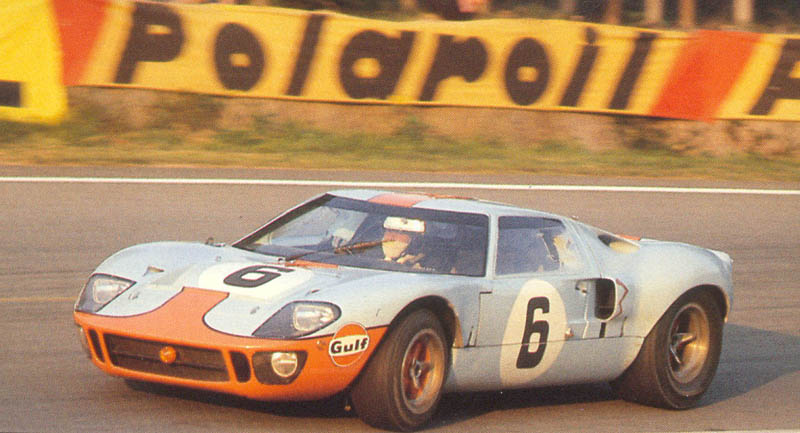 69lm06t Ickx-Oliver Ford GT40