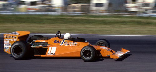 René Arnoux Qualifying the Surtees-Ford in the US GP at Wat