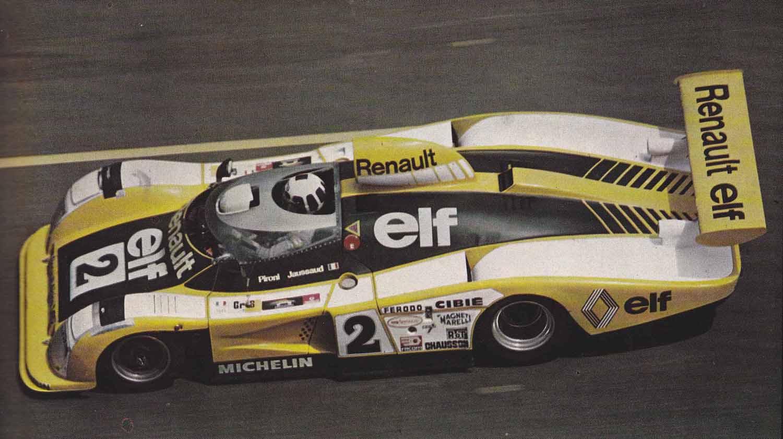 Le Mans 1978 Alpine A442B