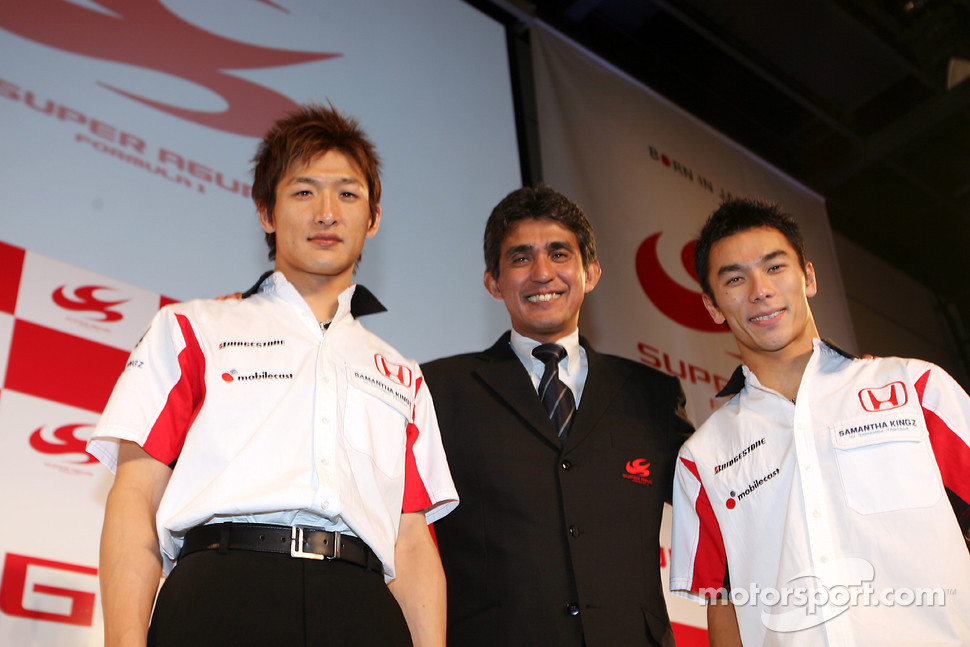 Super Aguri Formula 1 Japanese Team Launch