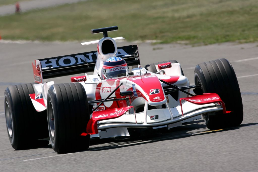 Super Aguri F1 Team SA06 First Run