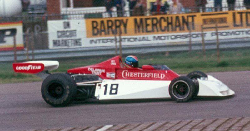 Team Surtees Surtees TS19 #18 (Brett Lunger) (Did Not Start- Practice Accident)