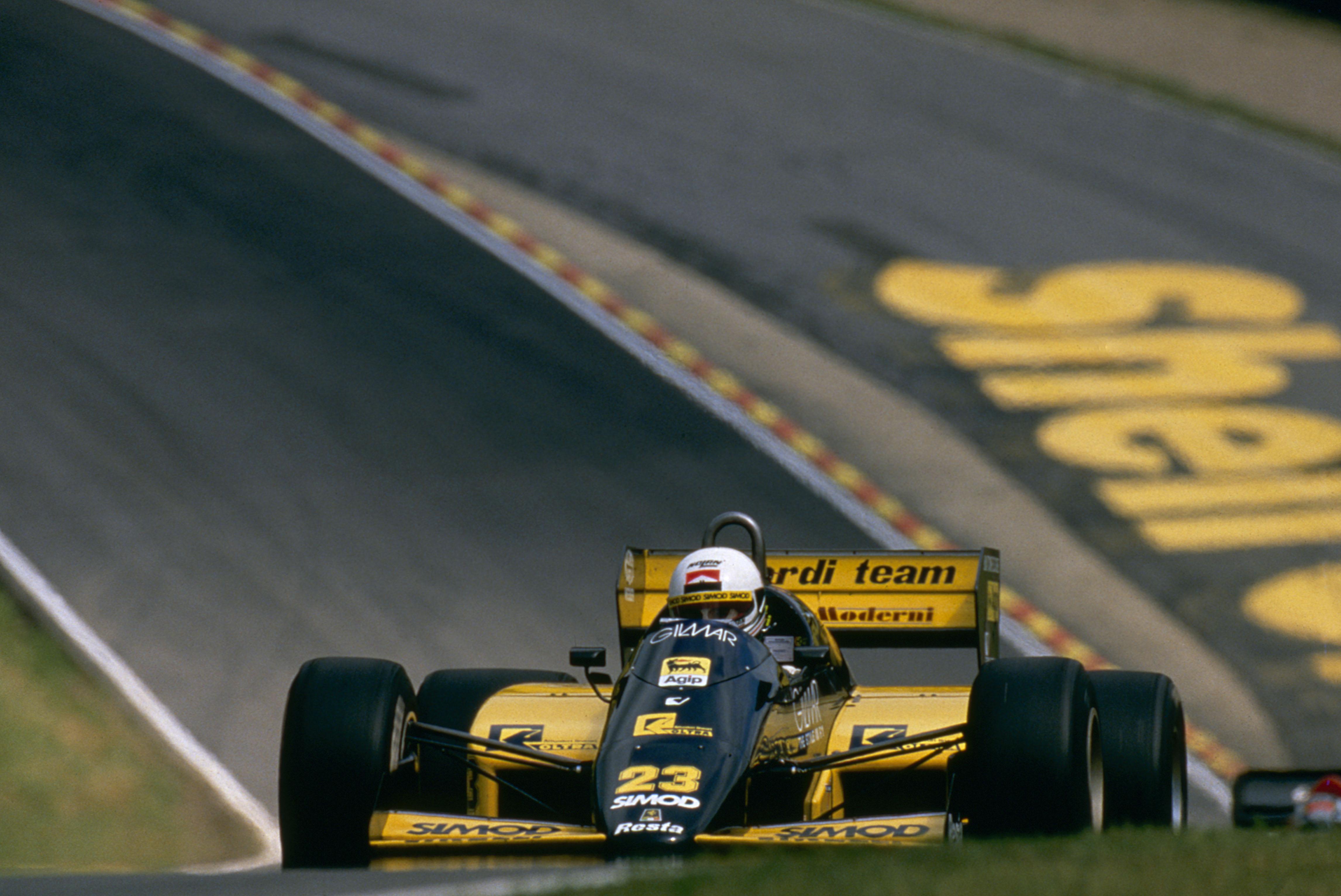 1986 Andrea de Cesaris