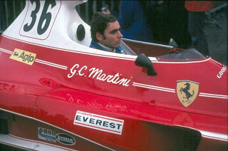 Brands_Hatch-1976 GiancarloMartini Ferrari312T Scuderia Everest
