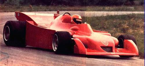 Vittorio Brambilla 1977 Alfa Romeo