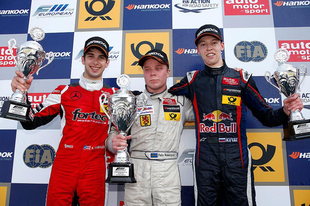 FIA Formula 3 European Championship, round 3, race 3, Hockenheim (D)