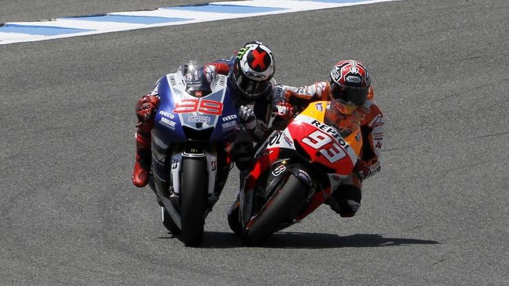Marquez-Lorenzo Jerez 2013