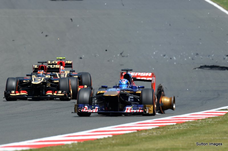 Formula One World Championship, Rd8, British Grand Prix, Race Day, Silverstone, England, Sunday 30 June 2013.