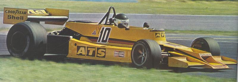 JPJ ATS F1 1978