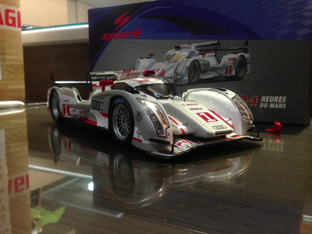 2012 # 1 Audi R18 winner 24 hs LeMans 3