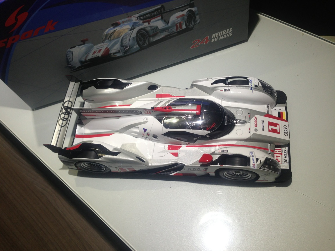 2012 # 1 Audi R18 winner 24 hs LeMans 5
