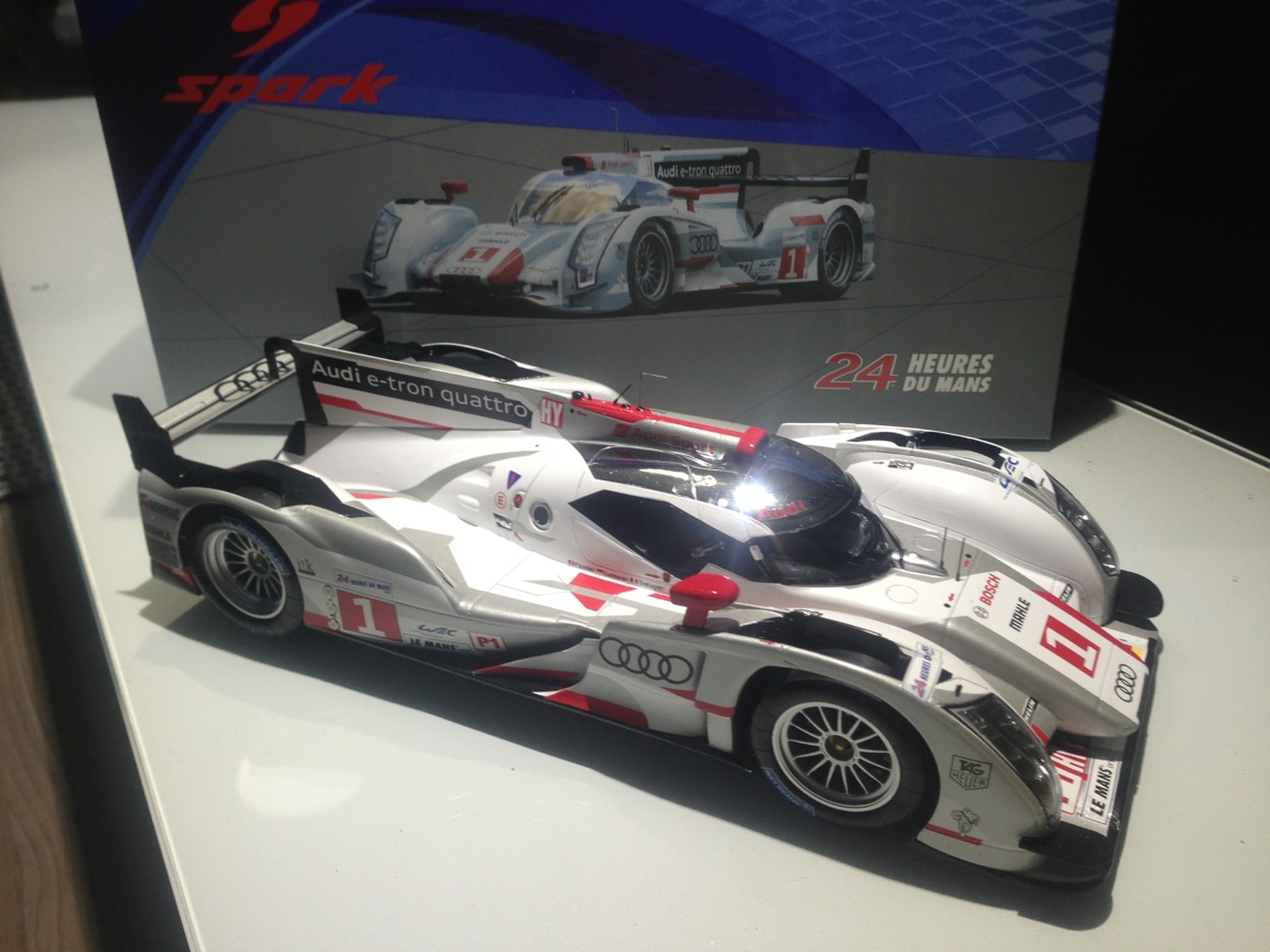 2012 # 1 Audi R18 winner 24 hs LeMans 6