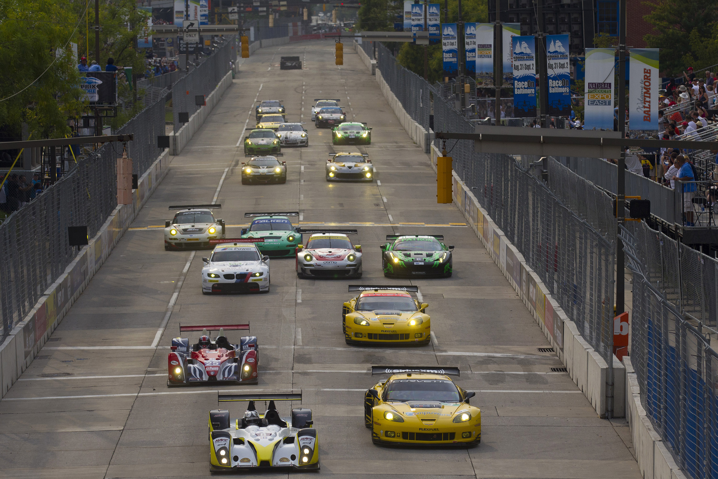 Corvette Racing Baltimore 2012