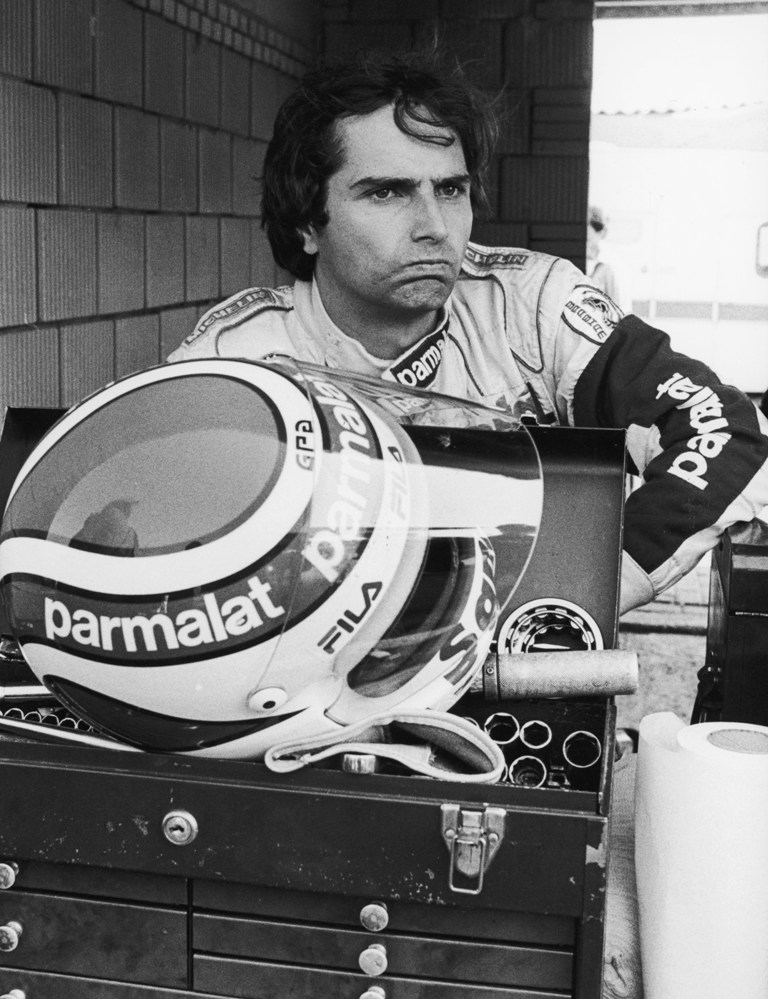 1981 Formula One World Championship. Nelson Piquet (BR). Parmalat Racing Team.