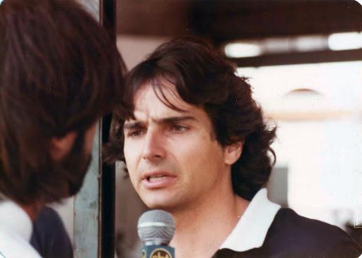 Nelson Piquet - Boxes - 3-  Jacarepaguá - março de 1983