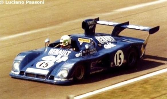 1000 KM Monza 1975_Lella LOmbardi_Marie C Beaumont_Alpine A441