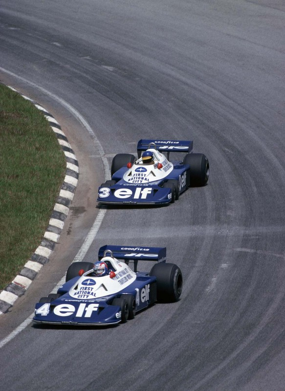 1977_patrick_depailler_ronnie_peterson_tyrrell_p34_cosworth_interlagos_gp_bra
