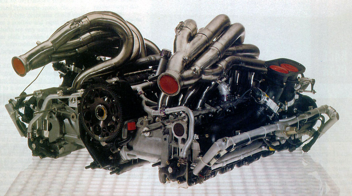 MercedesC291engine