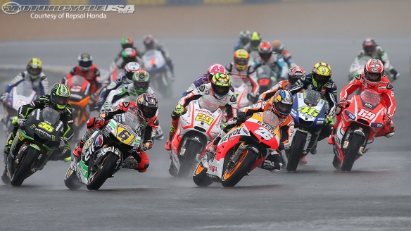 Race-start-Le-Mans-2013