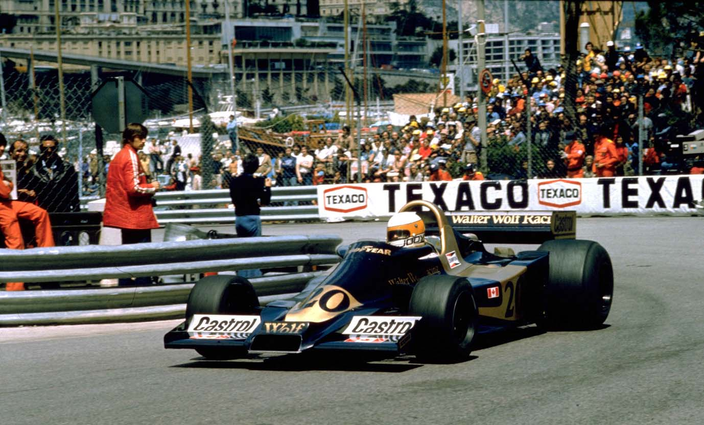 Jody Scheckter/Wolf Ford Wins Ford's 100th GP