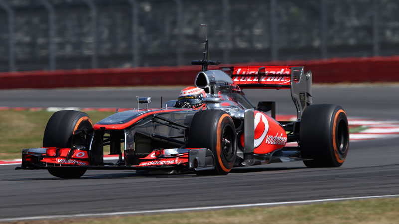 F1 Young Driver Tests - Silverstone
