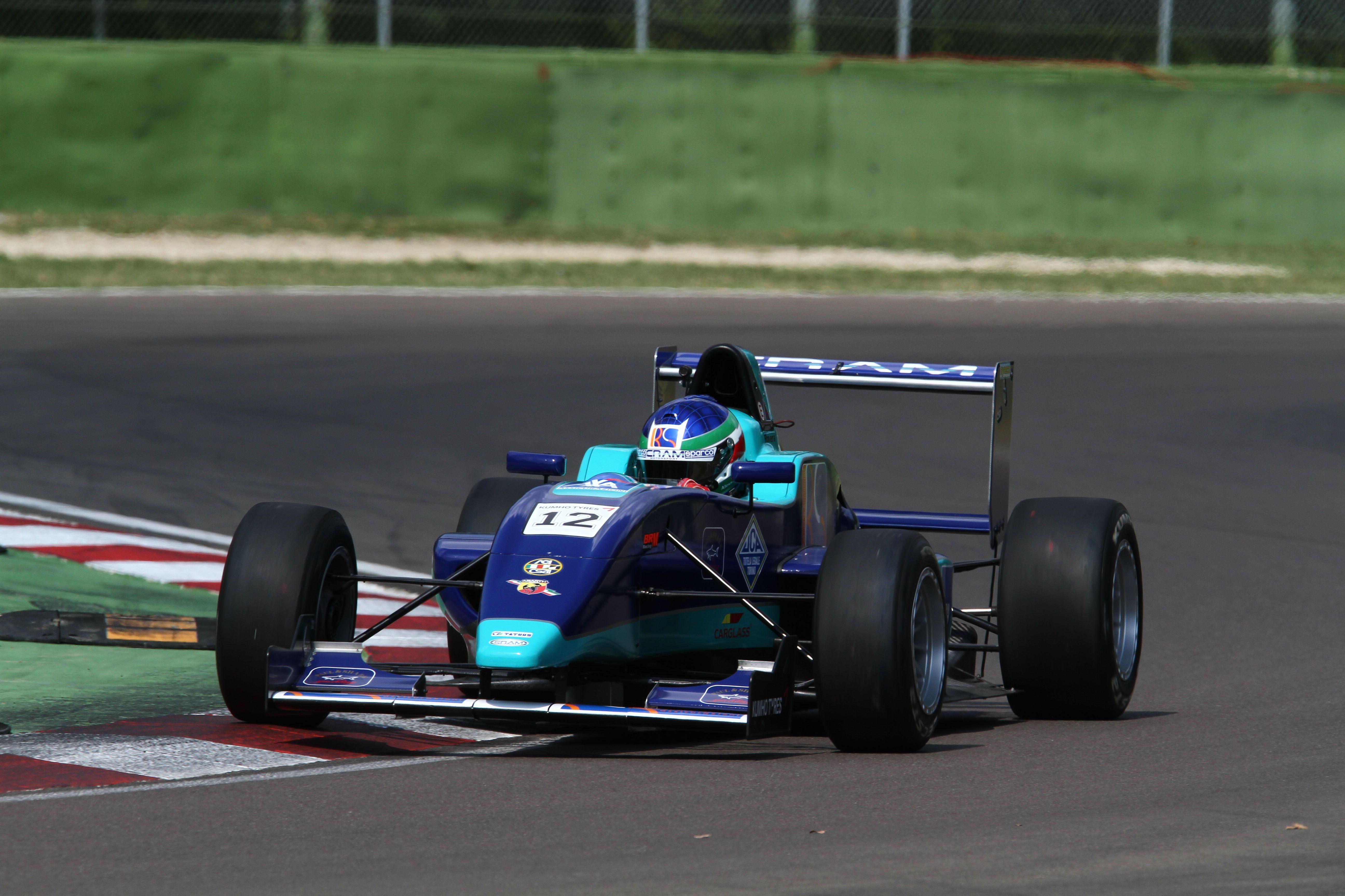 Alessio Rovera (Cram Motorsport Srl, F.Aci Csai Tatuus FA 010 FPT,#12)