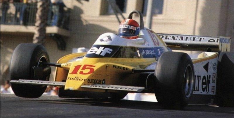 Jean Pierre Jabouille, Renault RE23