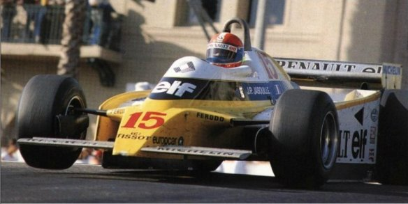 Jean Pierre Jabouille, Renault RE23
