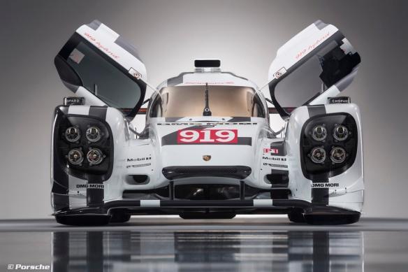 2014-Porsche-Motorsport-Porsche-919-Hybrid-Head-On-Doors-Open