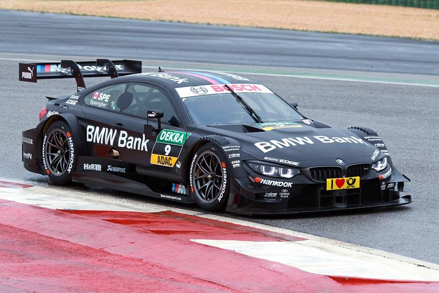 BMW M4 DTM 2014 #9 (Spengler) Front Side