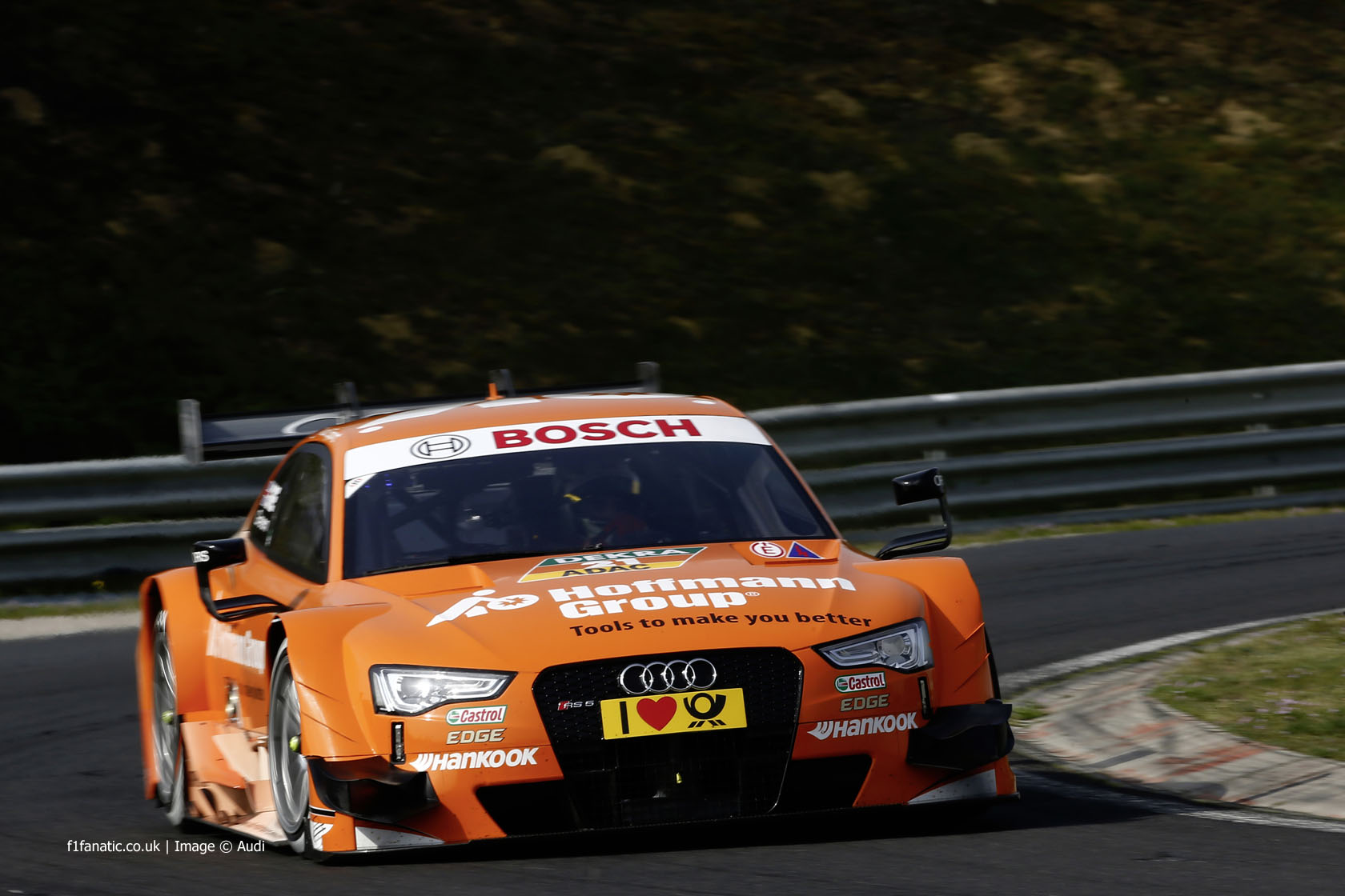 DTM-Test Hungaroring