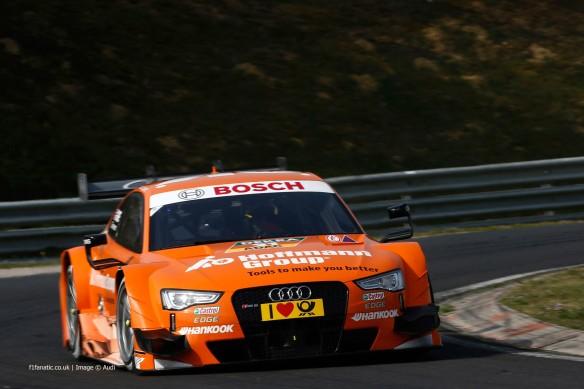DTM-Test Hungaroring