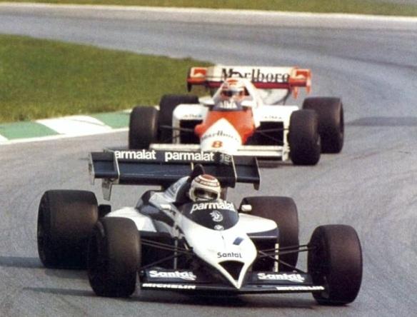 Nelson Piquet_Brabham BT53_Niki Lauda_McLaren MP4-2_Osterreichring 1984